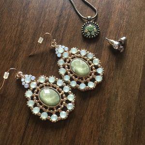 Sea Green Jewel Set